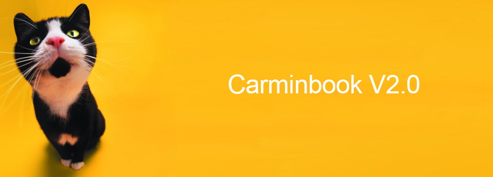 Bienvenue Sur La Version 2 De Carminbook.com !