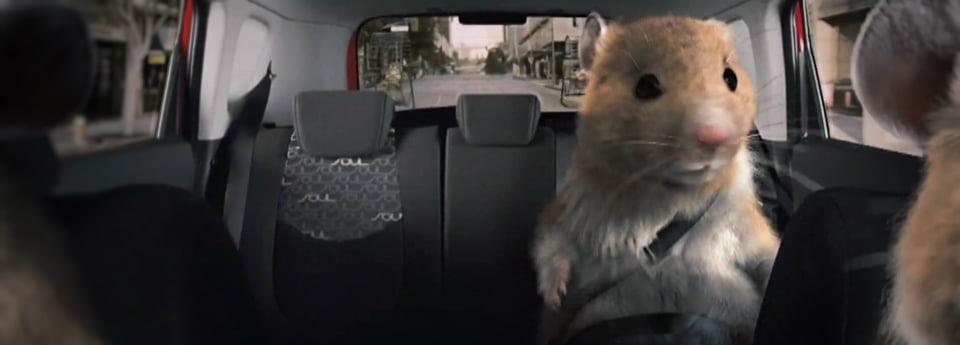 Buzz : Un Hamster Conduit Un Camion Volvo