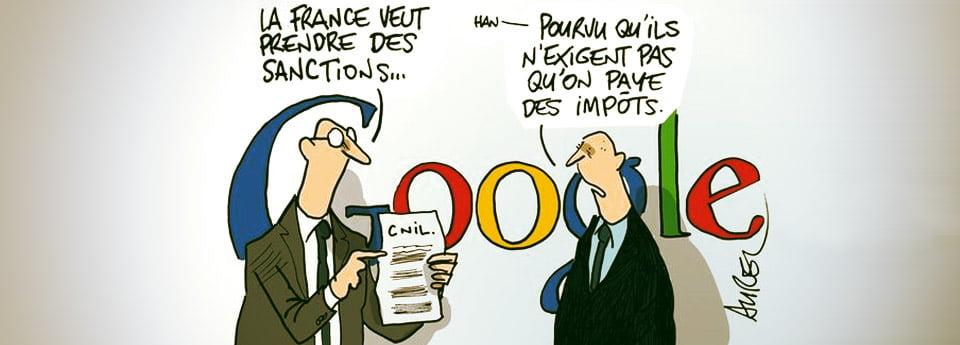 Quand Les Impôts Offrent Vos Données Personnelles à Google…
