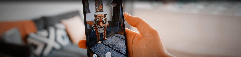 Chez Vous Des Animaux En Réalité Augmentée Trouvés Dans Google